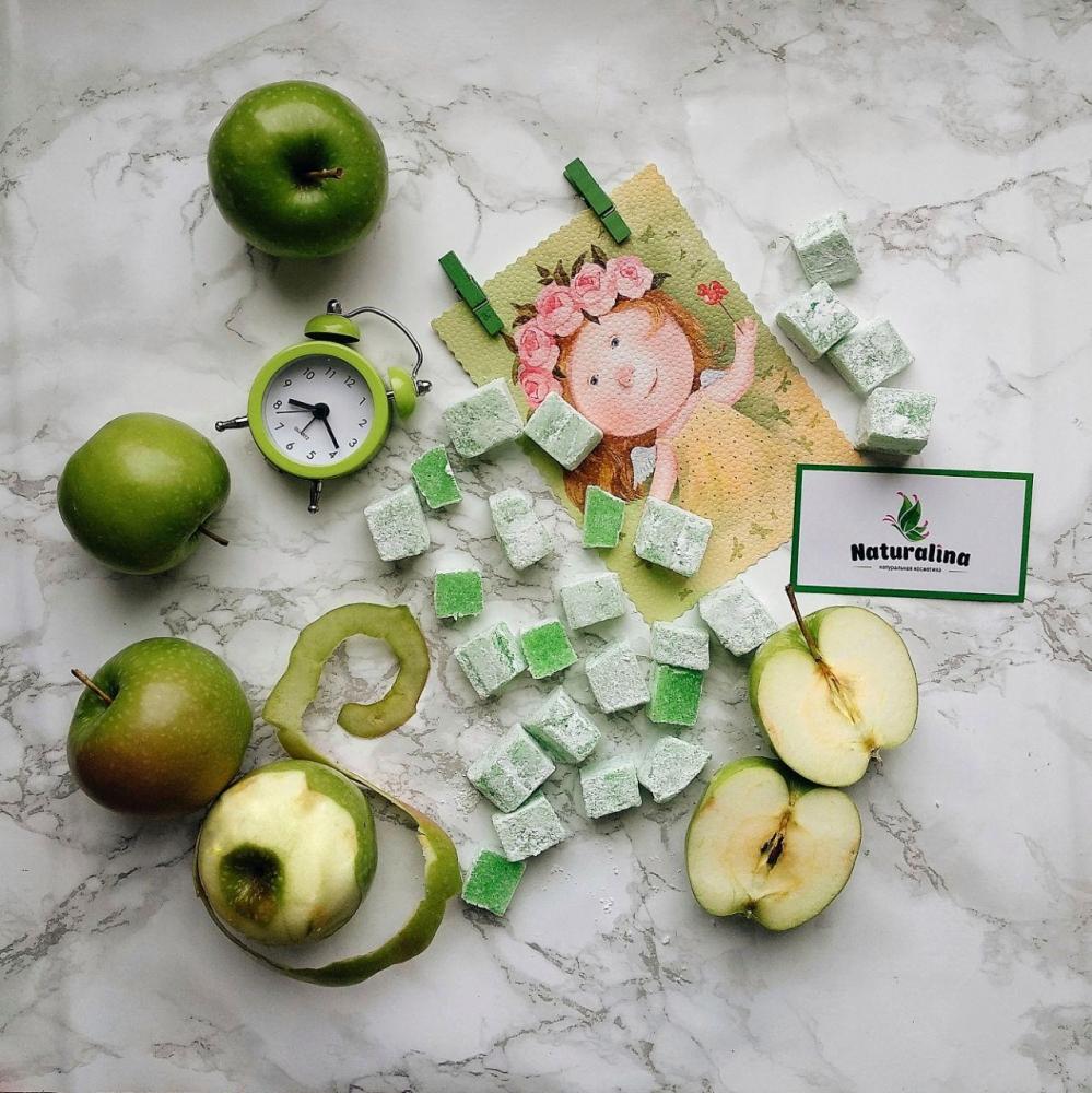 Рахат-лукум Зелёное яблоко - 1