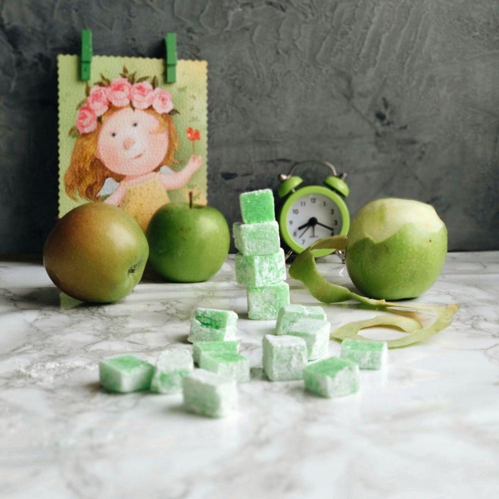 Рахат-лукум Зелёное яблоко - 2